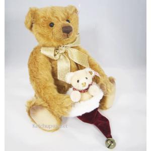 テディベア  クリス&クリスタ クリスマスベア Steiff Teddybear Kris&Krista, Chirstmas bear くまのぬいぐるみ|teddy|02