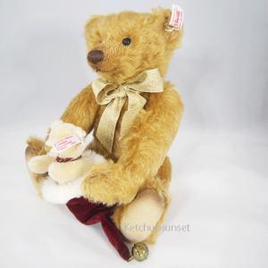 テディベア  クリス&クリスタ クリスマスベア Steiff Teddybear Kris&Krista, Chirstmas bear くまのぬいぐるみ|teddy|03