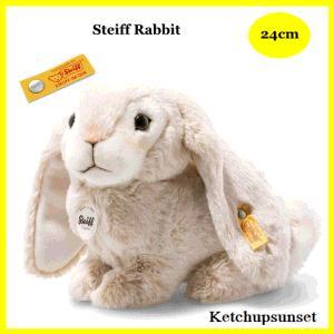 シュタイフ ラビット ロップイヤー Steiff Rabbit 24cm うさぎのぬいぐるみ|teddy