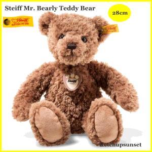 Steiffシュタイフ テディベア マイベアリー ブラウン 28cm ぬいぐるみ ふわふわ Steiff My Bearly Teddy Bear 28 cm teddy