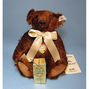 SALE!!テディベア シュタイフ 1997年 アメリカ トイストア限定 ミスターチョコレート Steiff Mr.Chocolate|teddy