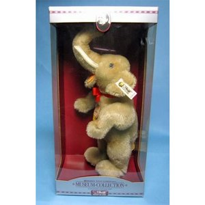 SALE!!テディベア シュタイフ MuseumCollection Jumbo Elephant Replica 1932|teddy