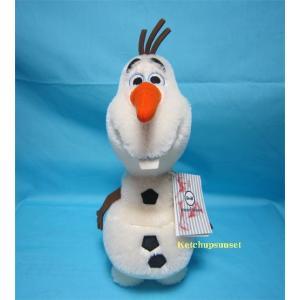 アナと雪の女王に登場する雪だるまのオラフ。 とてもひょうきんで楽しいキャラクターです。 夏が来たら思...