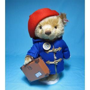 シュタイフ 2018年イギリス・アメリカ限定 60周年パディントン ベア Steiff 60th anniversary Paddington bear くまのぬいぐるみ|teddy