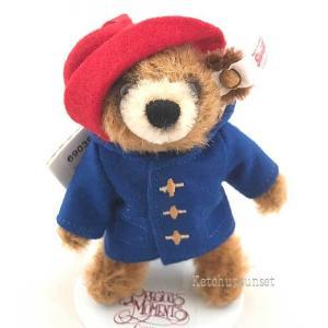 シュタイフ 2018年イギリス・アメリカ限定 パディントン ベア オーナメント Steiff Paddington bear ornament くまのぬいぐるみ|teddy