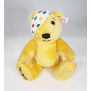 テディベア シュタイフ  パドシィ Steiff Teddybear Padsey Charity Bear くまのぬいぐるみ|teddy