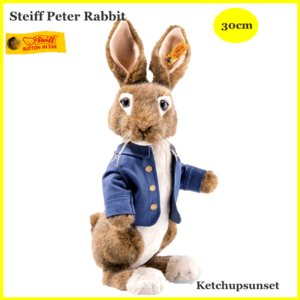 シュタイフ(steiff) ソフトタイプ ピーターラビット Peter Rabbit テディベア /プレゼント/ぬいぐるみ/クリスマス/ teddy