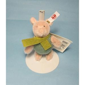 テディベア ぬいぐるみ シュタイフ ピグレット オーナメント Steiff Piglet Ornament|teddy