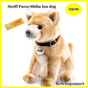 Steiffシュタイフ パコ 柴犬 29cm Pacco shiba inu テディベア ぬいぐるみ teddy