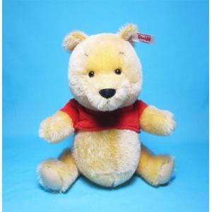 シュタイフ 2018年イギリス・アメリカ限定 シュタイフ ミニチュア プー ベア Steiff Miniature Pooh bear くまのぬいぐるみ|teddy