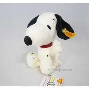 Steiff Snoopy 20cm  20cmサイズの小さなかわいいスヌーピーのぬいぐるみ。 中身...