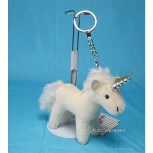 テディベア シュタイフ  ユニコーン ペンダント Steiff Unicorn Pendant (キーリング)|teddy|02