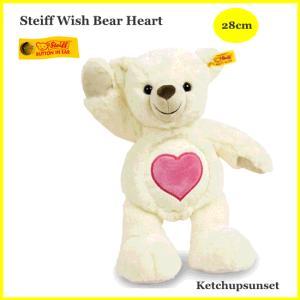 シュタイフ ウィッシュベア ハート Steiff Wish Bear Heart teddy