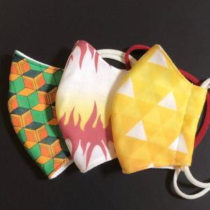 ハンドメイド 子ども用 ダブルガーゼ 和柄part2 立体マスク|tedukuri-tiara