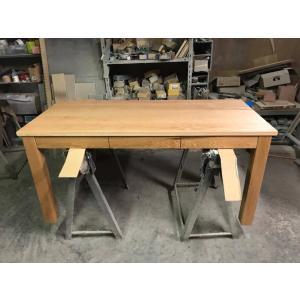 小林様ご注文分 ダイニングテーブル引出付 1400×650×550mm tedukurikaguueda