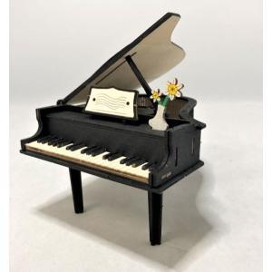 木で作るオルゴール工作キット グランドピアノ  50個セット|tedukurishop