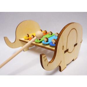 木で作る鉄琴 ぞう 50個セット|tedukurishop