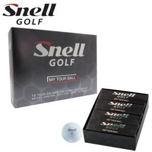 スネル ゴルフ マイ ツアー ボール Snell GOLF MY TOUR BALL 1ダース