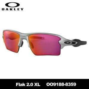 オークリー Flak 2.0 XL OO9188-8359 SILVER サングラス|teeolive-kobe