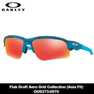 オークリー Flak Draft Aero Grid Collection (Asia Fit) OO9373-0970 サングラス|teeolive-kobe