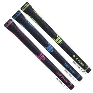 ゴルフプライド ブラック・ニオン メンズ バックライン有 Golf Pride Black Niion ネコポス便対応可(200円) teeolive-kobe