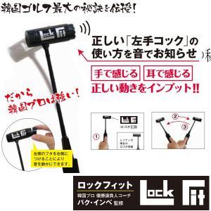 ロックフィット Lock Fit 韓国プロ優勝請負人コーチ パク・インベ監修 練習器具|teeolive-kobe