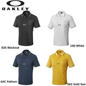 オークリー BARK MESHED LOGO POLO 434189 バーク メッシュ ロゴ ポロ ポロシャツ 半袖ポロシャツ OAKLEY 2018年モデル|teeolive-kobe