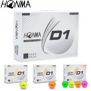 HONMA 2020 D1ボール 1ダース 本間ゴルフ ホンマゴルフ|teeolive