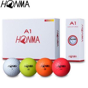 HONMA A1 BALL 本間ゴルフ A1 ボール 1ダース|teeolive