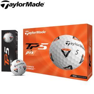 2021 Taylormade テーラーメイド TP5 pix ボール 1ダース 日本仕様|teeolive
