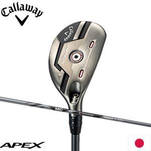 クーポン発行中 キャロウェイ APEXユーティリティ Fujikura MC 80 for Callaway装着モデル 日本仕様 Callaway エイペックス ユーティリティ フジクラ|teeolive
