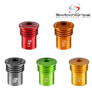 スウィッチグリップス用ウェイト 4-14g SwitchGrips カウンターバランスが自在に|teeolive