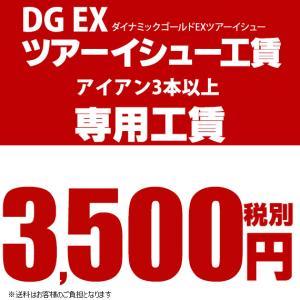 リシャフト工賃 DGEXツアーイシュー アイアンタイプ ノーマルボア(3本以上)※本数分ご購入ください teeolive