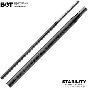 限定モデル BGT STABILITY TOUR BLACK スタビリティ ツアー ブラック パター専用シャフト 正規品|teeolive
