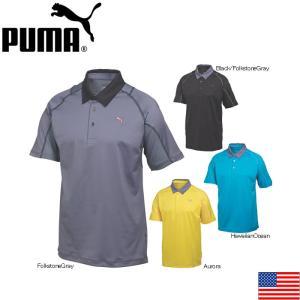 在庫処分 PUMA 568252 PUMA TITAN TOUR POLO GOLF SHIRT プーマ チタンツアー 半袖ポロ US|teeolive