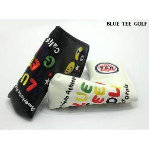 BLUE TEE GOLF/ブルーティーゴルフ ピンボール スマイル ブレード用 パターカバー(ネコポス便不可)