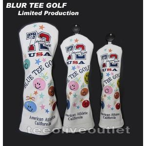 【限定】BLUE TEE GOLF/ブルーティーゴルフ Limited Againt PAR72 ヘッドカバー