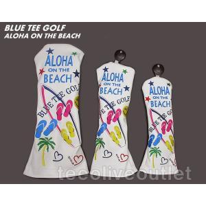 BLUE TEE GOLF/ブルーティーゴルフ ALOHA ON THE BEACH ヘッドカバー