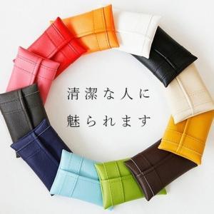 ポケットティッシュケース おしゃれ POMY ブランド ポーチ PVCレザー かわいい メール便 普...