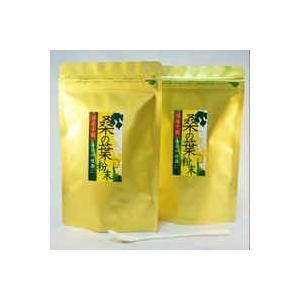 桑の葉 国産 粉末 お徳用 100g×2袋|tegeyokaichiba