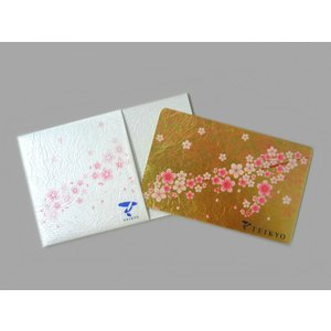 【GINZA TANAKA製】金箔手鏡 春 さくら|teikyo-store