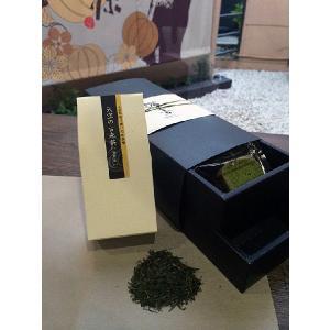 [進物用詰め合わせ2段箱]日本のマチュピチュ天空の古来茶(煎茶)&パウンドケーキ9個詰め合わせ|teito-genki