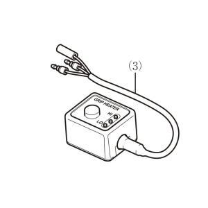 (ホンダ純正)  (補修や交換用に) グリップヒーター用補修部品 スイッチのみ LEDインジケーター部分 (08T50-EWA-001Jの補修、交換用に) (HONDA)