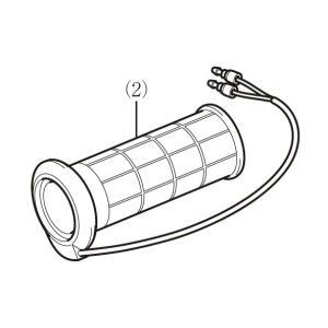 (ホンダ純正)  (補修や交換用に) グリップヒーター用補修部品 グリップヒーター右側のみ (08T50-EWA-001Jの補修、交換用に) (HONDA)