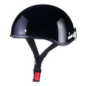LEAD リード工業 D'LOOSE D-355ハーフメット 0SS-GCD355K(ブラック)|teito-shopping