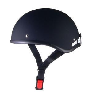 LEAD リード工業 D'LOOSE D-355ハーフメット 0SS-GCD355K1(マットブラック)|teito-shopping