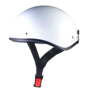 LEAD リード工業 D'LOOSE D-355ハーフメット 0SS-GCD355W(ホワイト)|teito-shopping