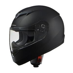 【送料無料】【LEAD リード工業】 STRAXSF-12 マットブラック フルヘイスヘルメット  【0SSGCSF12K1s】|teito-shopping
