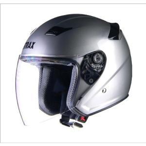 リード工業(LEAD) STRAX SJ-8 ジェットヘルメット シルバー(M,L,LLサイズ) 0SS-GCSJ8|teito-shopping