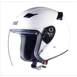 リード工業(LEAD) STRAX SJ-8 ジェットヘルメット ホワイト(M,L,LLサイズ) 0SS-GCSJ8|teito-shopping